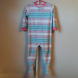 Carter's Winter Footie pajamas 24 months